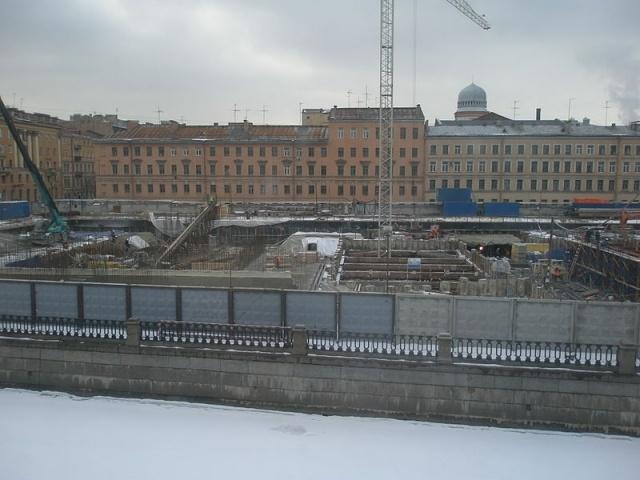 Строительство второй сцены Мариинского театра: Фото