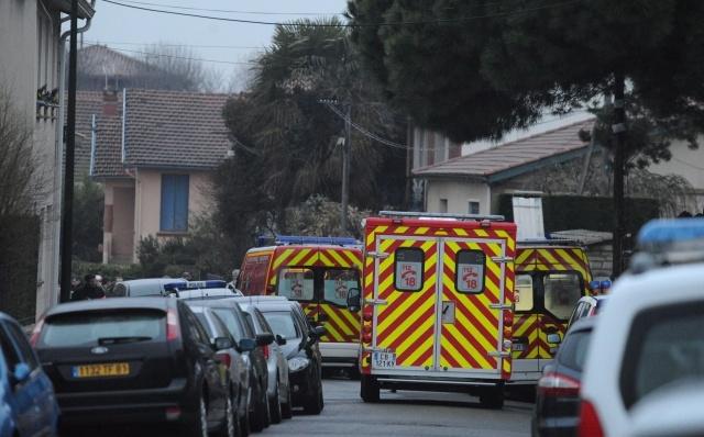 Операция по захвату подозреваемого в убийствах в Тулузе: Фото