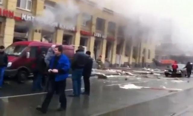 От взрыва в ресторане «Харбин» пострадало 18 человек: Фото