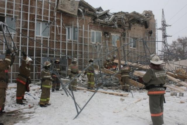 Обрушение дома в Челябинске: Фото