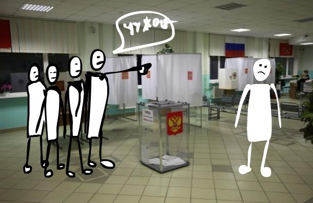Число нарушений на выборах в Петербурге достигло 800 и продолжает расти