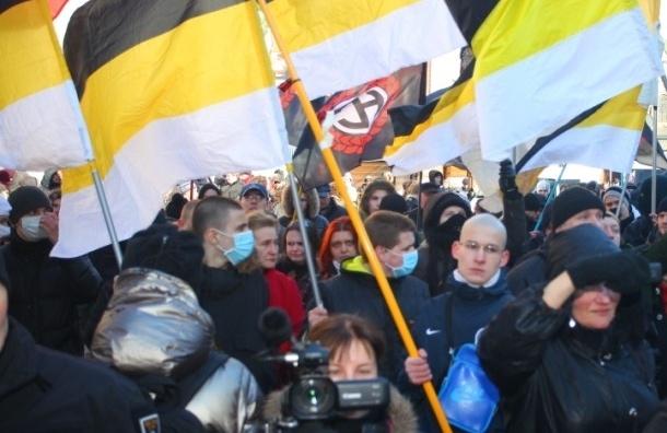 Оппозиционеров задержали после митинга в Петербурге
