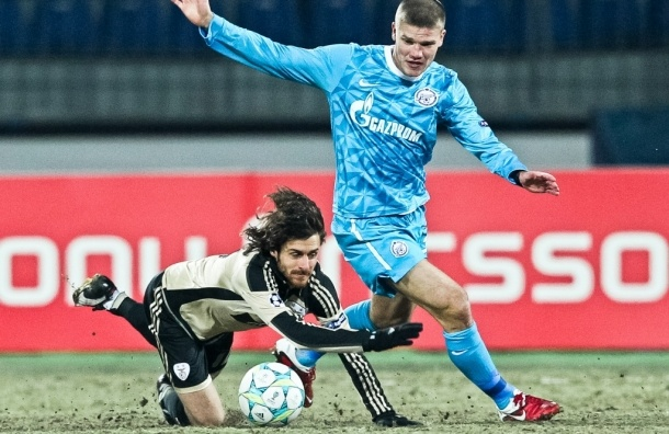 Футболист Игорь Денисов стал лучшим игроком «Зенита»