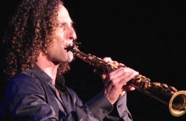 В Петербург едет знаменитый саксофонист Кенни Джи