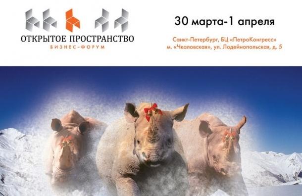 Межрегиональный бизнес-форум «Открытое пространство» пройдет в Петербурге с 30 марта по 1 апреля