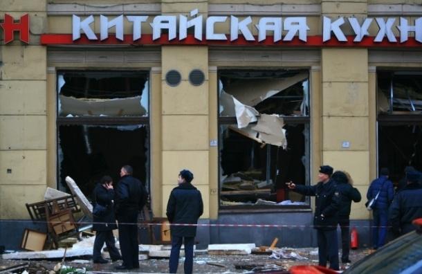 При взрыве ресторана «Харбин» пострадала прохожая
