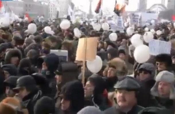 В Москве на акцию оппозиции пришло 5,5 тысяч человек