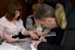 Михаил Прохоров проголосовал в Красноярском крае