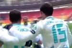 """Футбол: """"Зенит"""" и ЦСКА сыграли со счетом 2:2 (видео)"""