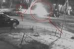 Поджог иномарки на Петроградке попал в камеры видеонаблюдения