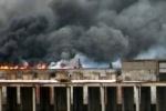 Во время пожара в здании «ЛОМО» могли погибнуть люди, считают в МЧС