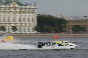 Катера «Формулы-1» могут вернуться в акваторию Невы следующим летом