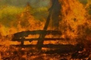 Пятеро детей погибли на пожаре