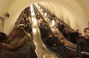 Метро «Горьковская» по утрам будут закрывать на вход для модернизации эскалаторов