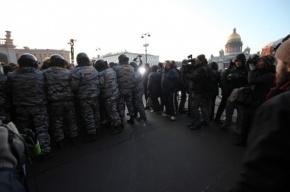 Смольный не разрешил оппозиции пройтись по Невскому