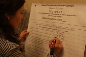 Как Путину пририсовывали голоса в Петербурге. Фото прилагаются
