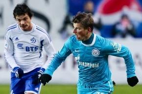 Аршавин и Кержаков не выйдут в стартовом составе на кубковый матч с «Динамо»