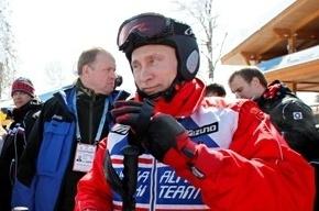 Владимир Путин палил из винтовки в Сочи