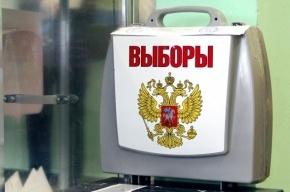 Депутат Виталий Милонов по традиции выгнал всех наблюдателей со своего участка