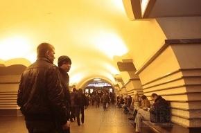 Пассажир упал на рельсы на «синей» ветке метро