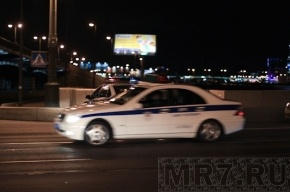 В Петербурге майор юстиции попал в ДТП на служебном автомобиле
