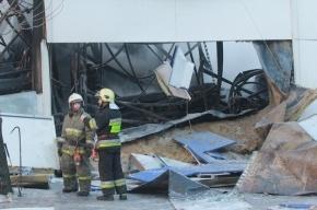 Ущерб от пожара в «К-Рауте» - 100 миллионов