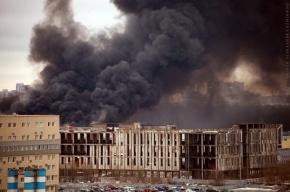 На пожаре в ЛОМО погибли рабочие, которые делали крышу