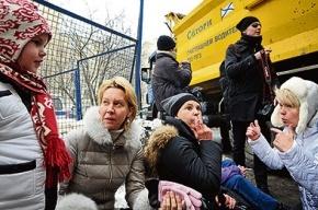 Москвичи не дают сносить руины в центре города