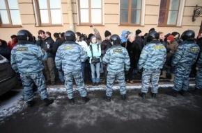 Миронов: Половину задержанных на Исаакиевской площади отпустили