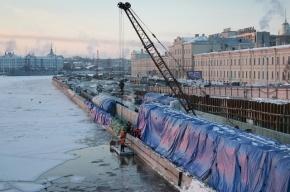 Тоннель на Пироговской набережной никак не могут достроить из-за «Водоканала»
