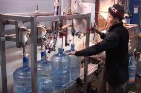 «Артезианскую» воду «Веселый водовоз» в подпольном цеху разливали из-под крана узбеки