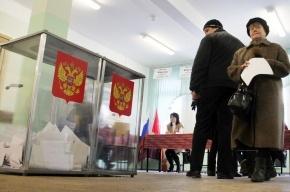 В Петербурге под конец подсчета голосов Путин скатился до 58%