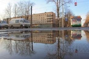 Весеннее тепло придет в Петербург только в апреле