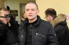 Сергея Удальцова арестовали на 10 суток за сопротивление копам