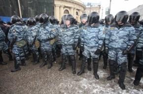 В Петербурге на митинге полицейские задержали депутата, приняв его за преступника