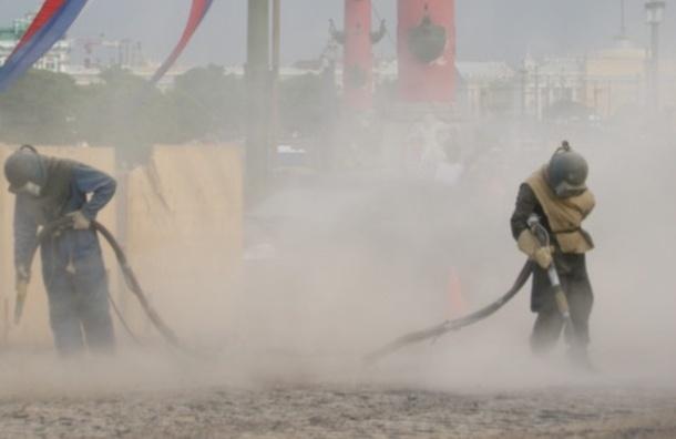 Какие районы в Петербурге самые пыльные