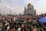 Общецерковный молебен в защиту веры в Храме Христа Спасителя: Фоторепортаж