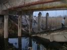 Под Самарой обрушился мост: Фоторепортаж