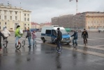 На Дворцовой площади Петербурга завершилась акция оппозиции: Фоторепортаж