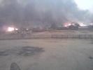 Фоторепортаж: «Пожар в поселке Тыгда Амурской области»