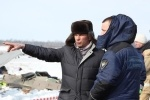 Фоторепортаж: «авиакатастрофа под Тюменью»