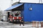 Фоторепортаж: «Пожар на рынке в Москве»