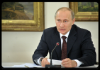 Путин встретился с директорами музеев в Саратове: Фоторепортаж