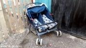 Женщина без водительских прав сбила коляску с двойняшками: Фоторепортаж