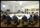 Фоторепортаж: «Путин встретился с директорами музеев в Саратове»