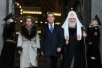 Дмитрий Медведев в Кронштадтском соборе, 19 апреля 2012: Фоторепортаж