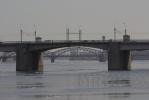 Фоторепортаж: «Мост Александра Невского»