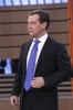 Интервью Медведева пяти телеканалам: Фоторепортаж