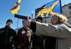 Активисты за легализацию оружия : Фоторепортаж