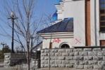 Фоторепортаж: «В Хабаровске православный собор исписали матерными словами»